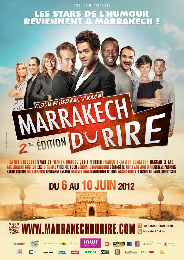 Le Marrakech Du Rire 2ème Edition 2012
